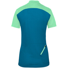 VAUDE Tremalzo IV T-shirt Femme, kingfisher